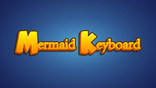 Mermaid Keyboard Rows Typing Game