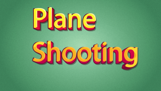Plane Shooting Typing Game