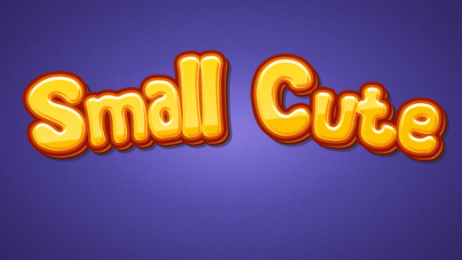 Small Cute Typing Game