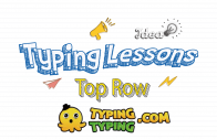 Typing Lessons: Full Top Row Keys