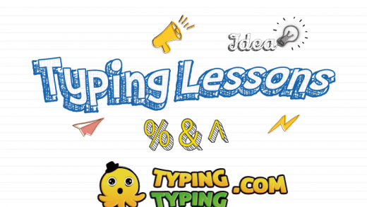 Typing Lessons: %, ^, Symbol Lesson