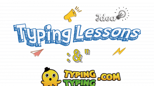 "Typing Lessons: :, "", Symbol Lesson"