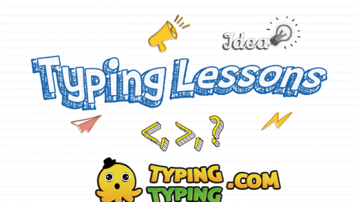 Typing Lessons: , ?, Symbol Lesson
