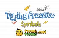 Typing Practice: Symbols