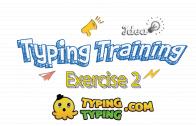 Typing Training: Exercise 2