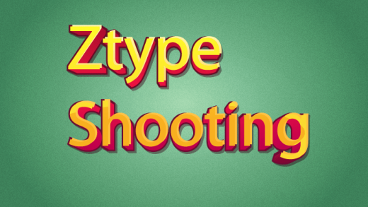 Ztype Shooting Typing Game