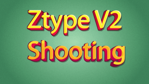 Ztype V2 Shooting Typing Game