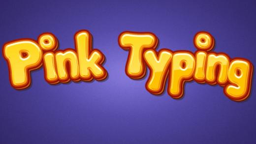 Pink Typing Game